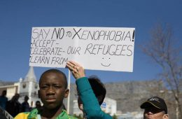 This image is for our piece on Revisiting African Humanism: Xenophobia.